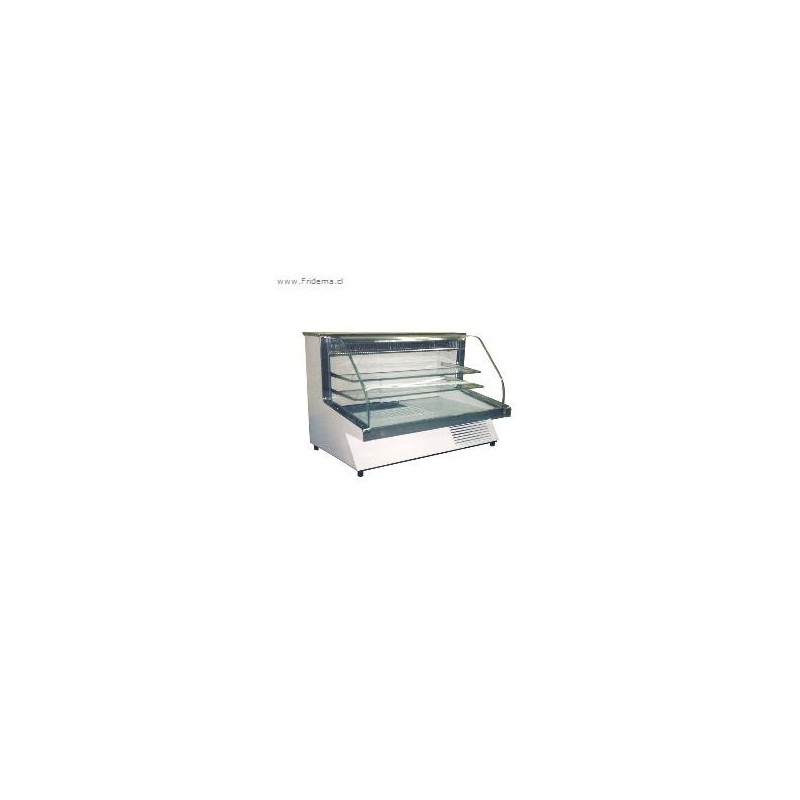 Vitrina Refrigerada Modelo Vidrio Curvo